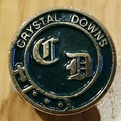 Rare / Collectable ball marker - Crystal Downs