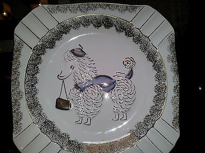 1950's Royal Carlton Fancy Lady Poodle Cigar Ashtray