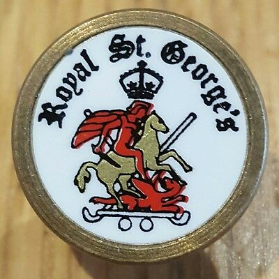 Rare / Collectable ball marker - Royal St. George's