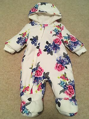 Joules Baby Girl Pram Suit 0-3 Months