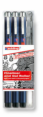 edding 1800 / 2185 Zendoodle Outline Set