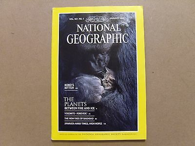 National Geographic Magazine - January 1985 - See Images For Contents