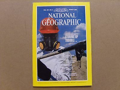 National Geographic Magazine - March 1985 - See Images For Contents