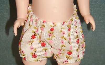 "Original Madame Alexander dress Panties for 8"" outfit no doll Summer"