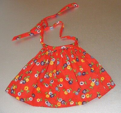 "Original Madame Alexander beautiful dress Apron for 8"" doll outfit Summer"