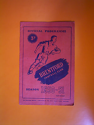 League Division Two - Brentford v Cardiff City - 17th March 1951