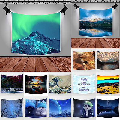 Landscape Tapestry Hanging Polyester Wall Hanging Wall Decor  Home Decor