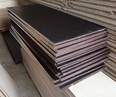 25 Pieces of NEW 12mm RIGGA Phenolic Resin Coated Plywood 48in x 19in