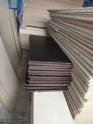 50 Pieces of NEW 12mm RIGGA Phenolic Resin Coated Plywood 48in x 19in