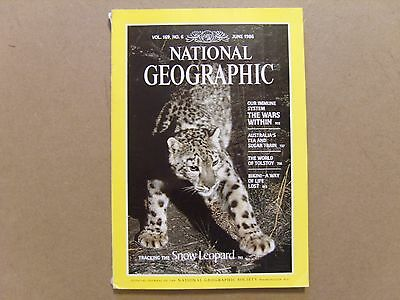 National Geographic Magazine - June 1986 - See Images For Contents