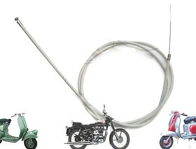 Lambretta  Li Gp Sx TvInner And Outer Gear Cable Grey @cad