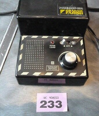 Graham Farish Branded Controller Powerbox 0192 Made By Agw 00 And N