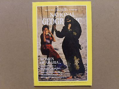 National Geographic Magazine - October 1987 - See Images For Contents