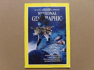 National Geographic Magazine - December 1987 - See Images For Contents