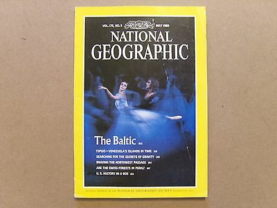 National Geographic Magazine - May 1989 - See Images For Contents