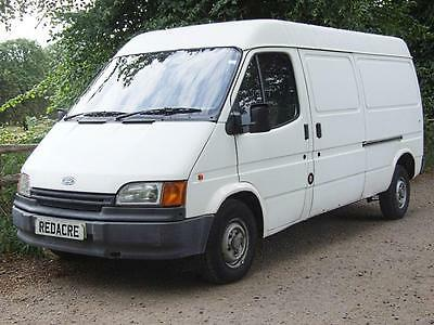 1994 (L) Ford Transit 2.5D 100 LWB Diamond White
