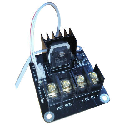 3D Printer hotbed MOSFET expansion module inc 2pin lead Anet A8 A6 A2 Compa F4K0