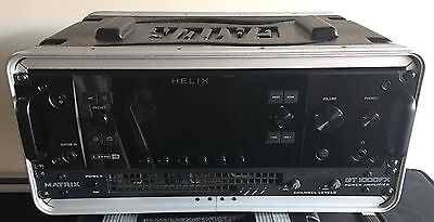 Line 6 Helix Rack with Controller, Matrix Amp, Expression Pedal and Cases