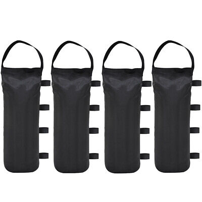 4Pc Monoshock Sand Weight Bag For Ez Pop Up Canopy Outdoor Gazebo Tent Accessory