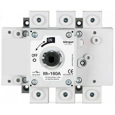 Telergon Switch-disconnector  160A , 3-poles