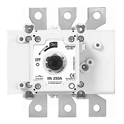 Telergon Switch-disconnector 250A, 3-poles