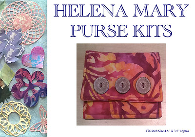 Helena Mary Bag Making Kit Complete Kit - Batik Purse