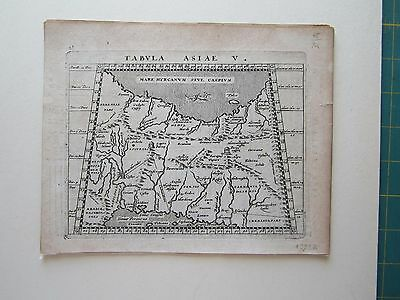 MIDDLE EAST Persia ancient World Magini Ptolemy 1617 orig. antique map
