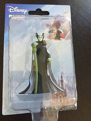 "Disney Sleeping Beauty Maleficent Villain PVC Figure /Cake Topper/ Toy- 2"" NEW"