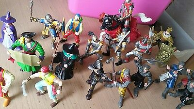ELC fantasy figures  knights witches pirates schleich knight job lot
