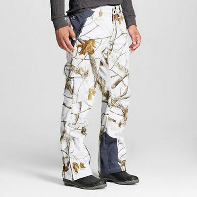 Mens Arctix Realtree HD Camo White Snow Pants All Sizes S-XXL *NEW* RR $219
