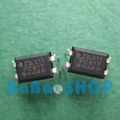 30/50/100/500/800/1000pcs PC817 PC817C EL817 817 Optocoupler SHARP DIP-4