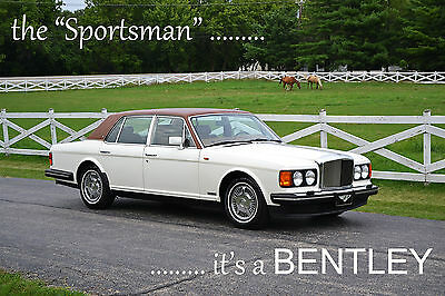 """1991 Bentley Mulsanne """"Sportsman"""" package Very clean, orig, excel driver cond with low miles, clean Carfax. Ready 2 go!"""