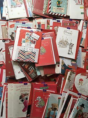 Job Lot of 300 Christmas Mixed Hallmark Cards - All Sealed