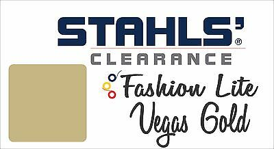 "15"" x 25 Yards - Stahls' Fashion-LITE Heat Transfer Vinyl HTV - Vegas Gold"