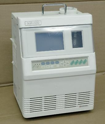 Shimadzu SOA-7000 Portable Infrared Gas Analyzer SO2 O2 +/-0.5%