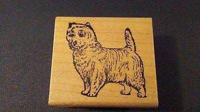 Cairn Terrier Dog Breed Mounted Rubber Stamp