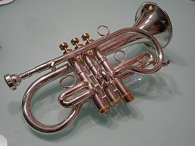 One USED Carolbrass Eb Soprano Cornet - Excellent Condition
