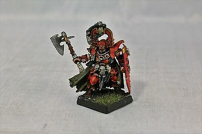 Warhammer Warriors of Chaos Champion with Axe and Shield Well Painted