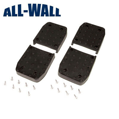 Non-Slip Replacement Stilt Foot/Sole Pads for Pentagon, GypTool, GoPlus Stilts