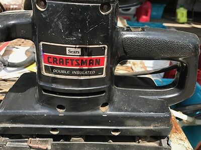 ☆ Sears Craftsman Sander ☆ 315.11690 ☆ Used ☆ Double Insulated ☆ Dual Motion