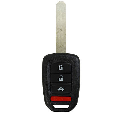 Remote Key Shell Replace Fit for Honda Accord Civic CR-V Uncut Key Case 13-2016