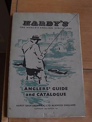 Hardy Vintage Fishing Catalogue 64th Edition 1958