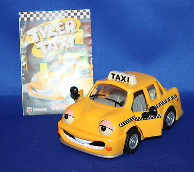 Tyler Taxi  # 6 Chevron car with booklet