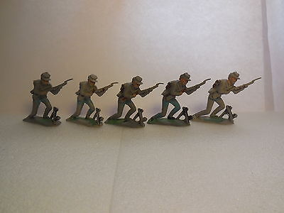 Vintage 60mm Crescent ACW American Civil War Plastic Toy Soldiers 1:32