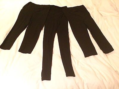 3 x H&M Over the bump Maternity Leggings - Size 8/Small