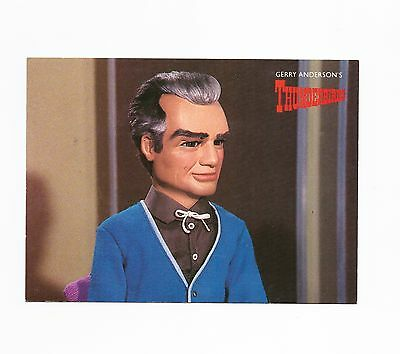 Gerry Anderson's Thunderbirds Postcard - Engale Marketing 1988 Jeff Tracy