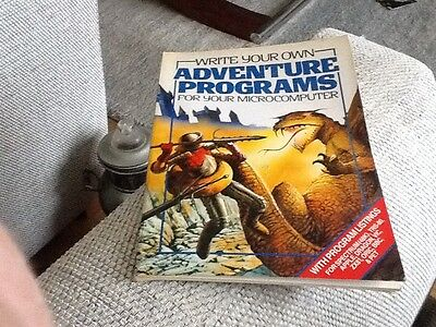 Write your own Adventure Programs Book For Zx81 Apple Oric BBC Pet Dragon