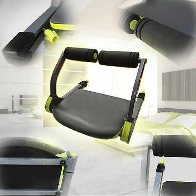 Abs Toning Machine Workout Trainer Abdominal Exerciser Home Fitness Sit Up Gym
