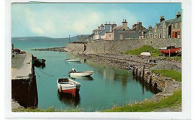 THE HARBOUR, PORT WILLIAM: Wigtownshire postcard (C28930)
