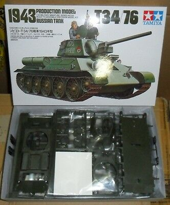 35059 Russian T-34/76 1943 Tamiya 1:35 plastic model kit